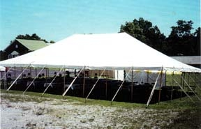 Anchor 40 x 100 pole tent