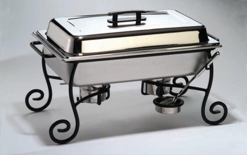 Ornate Wrought Iron Chafer, Full Size