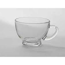 Punch cup 4 oz glass