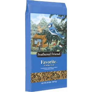 Feathered Friend Favorite Birdseed 20lb- 2 for $10