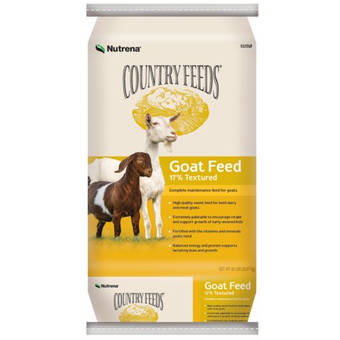 Country Feeds 17% Textured Goat Feed