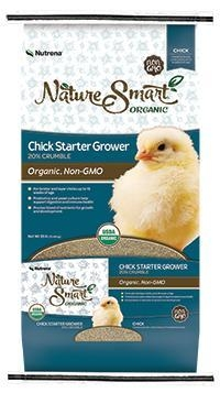 Nature Smart Organic Chick Starter Grower Feed