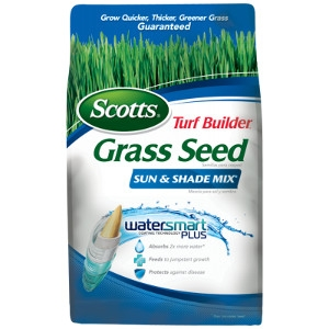Save on Scotts Grass Seed Sun & Shade Mix
