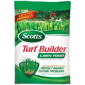 Save on Scotts Turf Builder Lawn Food