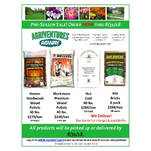 Pre-Season Wood Pellet Sale!