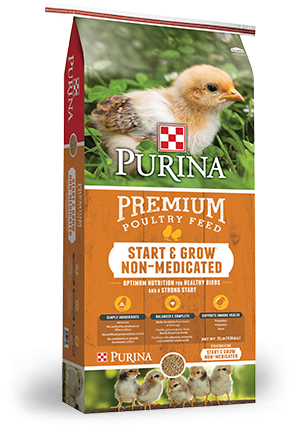 Purina® Start & Grow® Non-Medicated Crumbles