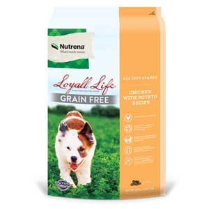 Nutrena® Loyall Life™ Grain Free Chicken with Potato Recipe