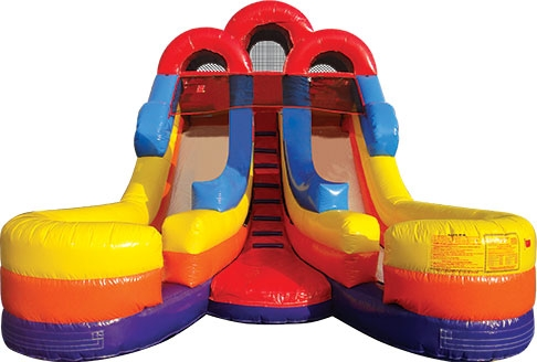 Inflatable Double Water Slide
