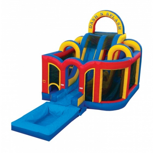 Inflatable Dash & Splash Obstacle Course (no pool)