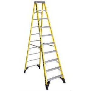 Werner 10' Step Ladder with 5' Extension
