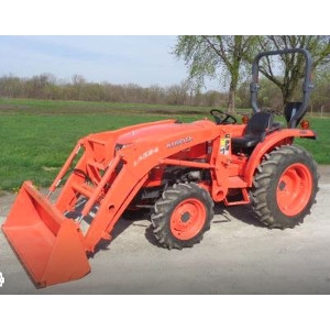 Kubota L3800 Tractor with Loader