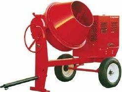 Towable Gas Concrete Mixer