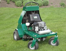 AERATOR, LAWN RIDE-ON