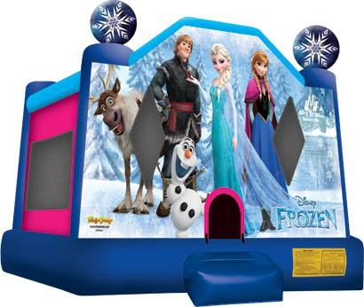 FROZEN CASTLE BOUNCE HOUSE