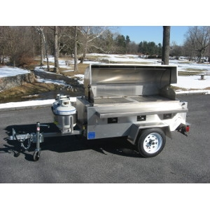 Towable Grill-LP Gas