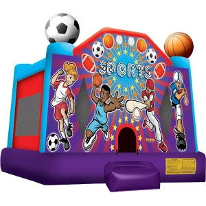 Inflatable Bounce House Sports USA