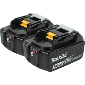 18V LXT® Lithium‑Ion 5.0Ah Battery, 2/pk