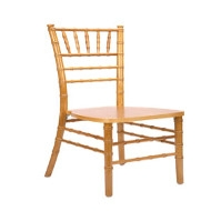 Chiavari Ballroom Chair *Natural Color w/pads
