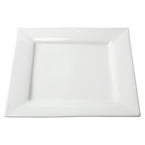 International Event White Square Plates