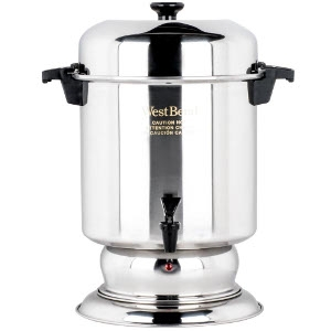 West Bend Food Service SS Coffeemaker, 55 Cup