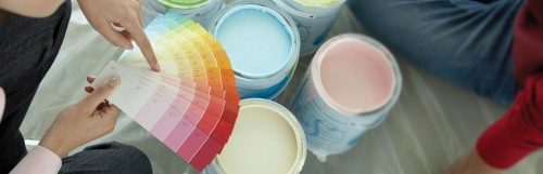 Check out our paint department!