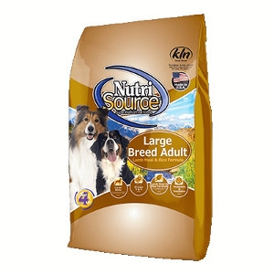 $5 Off NutriSource Large Breed Lamb Formula 33lb