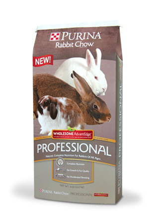 Purina Rabbit Chow; Professional Wholesome
