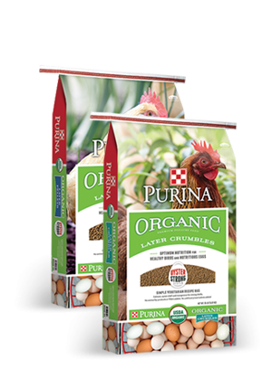 Purina Organic Layer Pellets and Crumbles