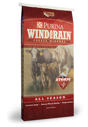 Purina Wind and Rain Cattle Mineral (Granular)