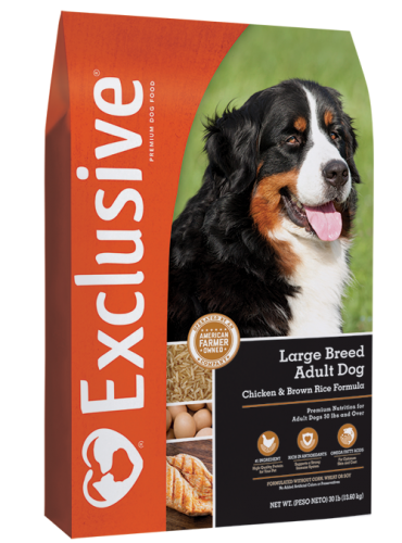 Exclusive Large Breed Adult Chicken & Rice Dog Food