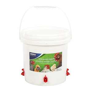 Sideways Sipper Poultry Water Bucket
