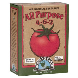 Down to Earth All Purpose 4-6-2 Natural Fertilizer