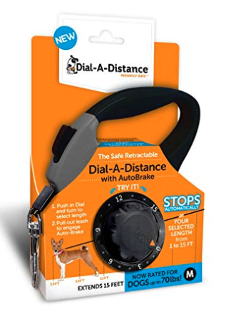 Thunder Dog Dial-A-Distance Retractable Leash