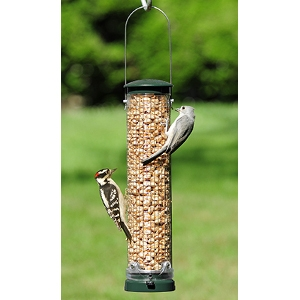 Quick-Clean Peanut Mesh Bird Feeder