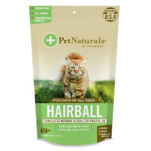 Pet Naturals of Vermont Hairball Control Treats for Cats