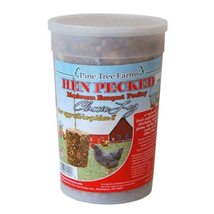 Hen-Pecked Mealworm Poultry Classic Seed Log 28oz