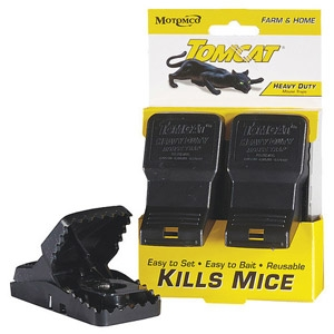 Tomcat® Reusable Mouse 2-Pack Snap Traps