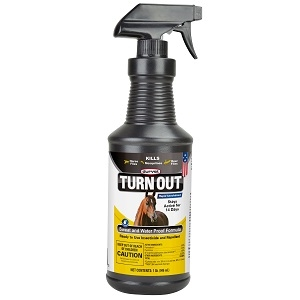 Durvet TURN OUT® Sweat & Waterproof Equine Fly Spray