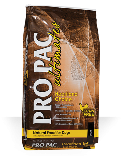 ProPac Ultimate Heartland Choice Grain Free Chicken & Potato Dog Food