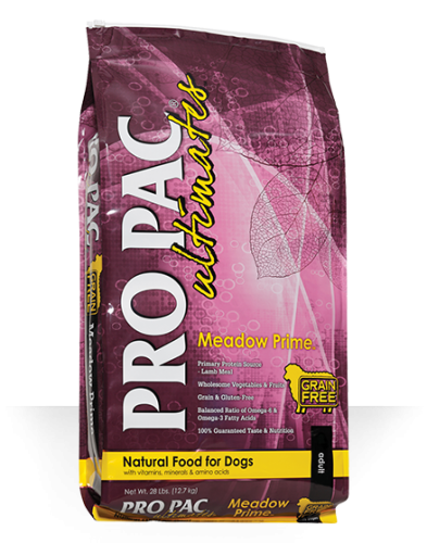 ProPac Ultimate Meadow Prime Grain Free Lamb & Potato Dog Food