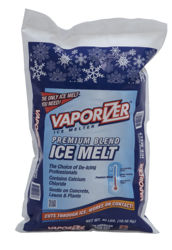 Rock Salt Ice Melt 25# and 50# bag