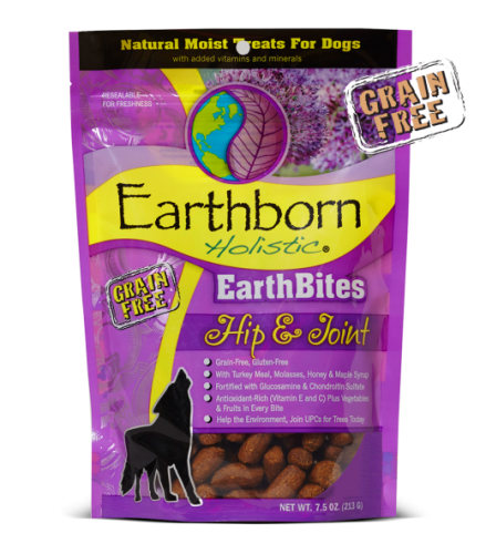 Earthborn Hip & Joint treats 7.5oz