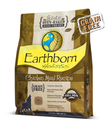 Earthborn Grain Free Holistic Chicken Dog Treats