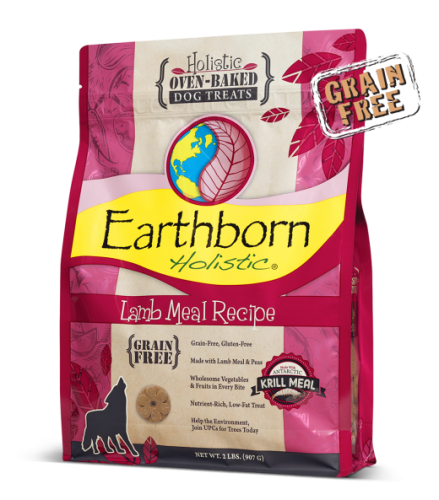 Earthborn Lamb Holistic Grain Free Dog Treats