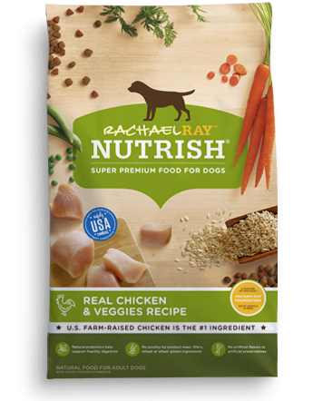 Rachael Ray Nutrish Dog Food Chicken & Veggies