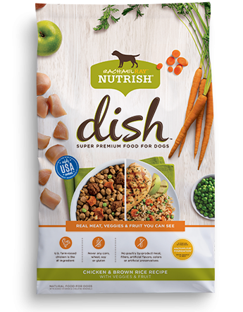 Rachael Ray Nutrish Dish Premium Chicken & Brown Rice Dog Food