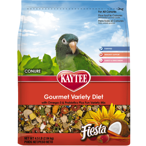 Kaytee Fiesta Conure Food 4.5# bag