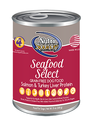 Nutrisource Seafood Select Grain Free Canned Dog Food