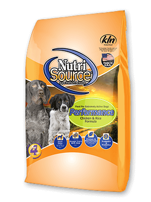 Nutrisource Performance Chicken and Rice Dog Food 40#