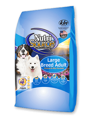 Nutrisource Chicken & Rice Large Breed Dog Food 30#